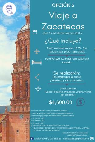 VIAJE A ZACATECAS OPCION2